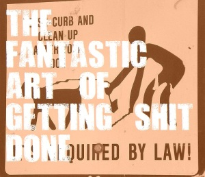 The Fantastic Art of Getting Shit Done